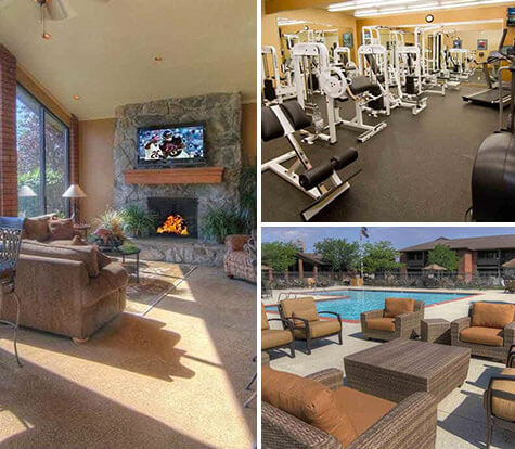 On-Site Fitness Center - Thornhill Park